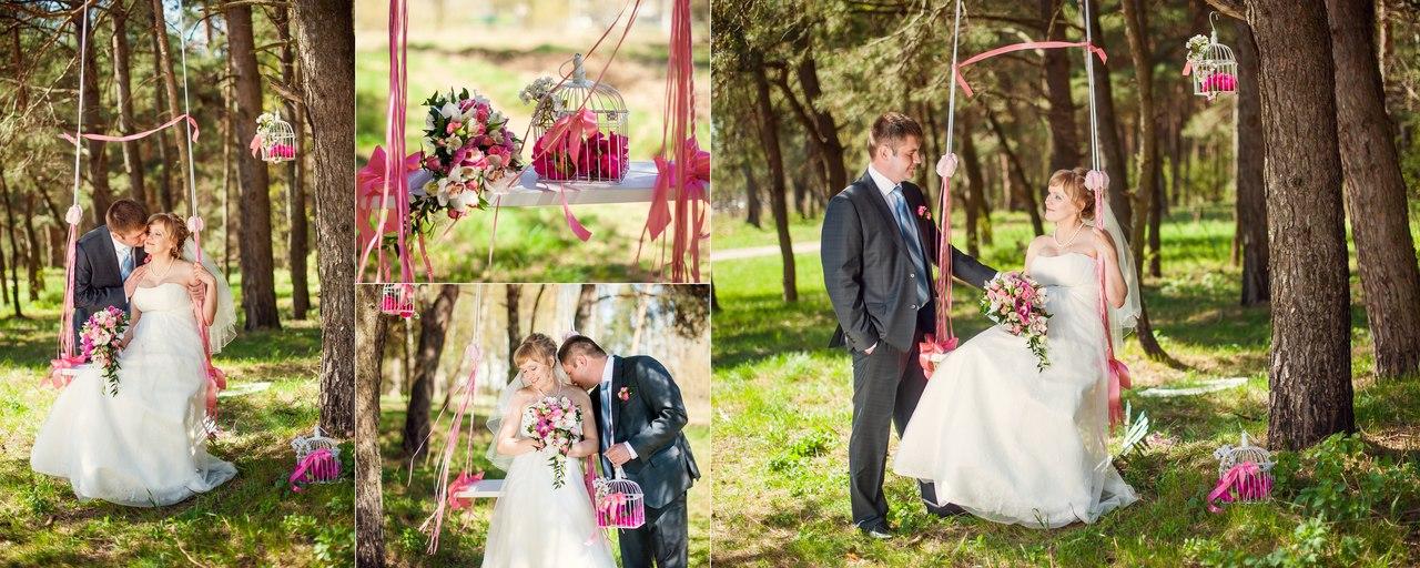 Свадебное оформление, выездная регистрация